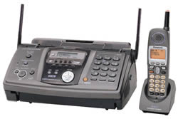 cordless phone fax copier answering machine