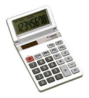 Canon TS-84H Handheld Displays Calculator