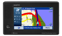 Sanyo Easy Street NVM-4050 Navigation with Text-To-Speech