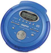 Sanyo CDP-M451 Personal CD/MP3 Player