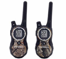 Motorola T8550RCAMO Two-Way Radio
