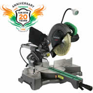 Hitachi C8FSHE Sliding Compound Miter Saw with Laser Marker