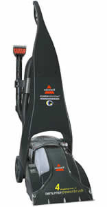 Bissell 1697 W Powersteamer Pro Upright Deep Cleaner User