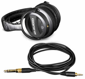 M-Audio Studiophile Q40 Closed-Back Dynamic Headphones