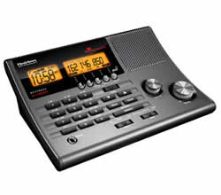 Uniden BC370CRS Clock Radio Base Scanner