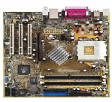 Asus A7V8X-MX VIA KM400 Motherboard