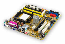 Asus M2NBP-VM CSM Socket AM2 Motherboard
