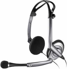 Plantronics Audio 400 Dsp Foldable Pc Headset User Manual