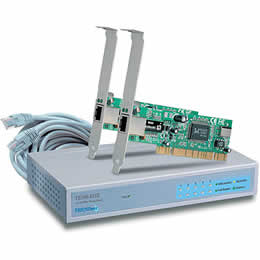 Trendnet TE100-SK3 Switch Fast Ethernet Network Kit
