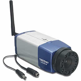 Trendnet TV-IP301W Wireless Advanced Internet Camera Server