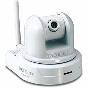 Trendnet TV-IP410W Wireless Internet Camera Server