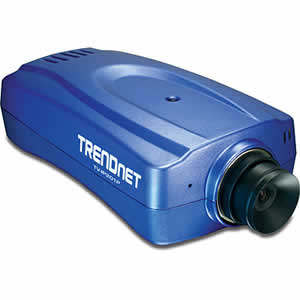 Trendnet TV-IP201P PoE Internet Camera Server