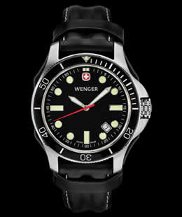 Wenger 72325 Battalion III Diver Watch