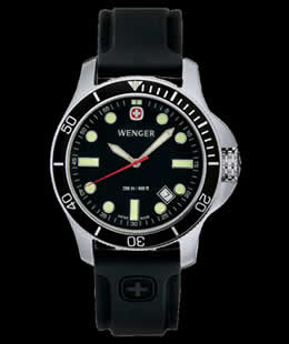 Wenger 72324 Battalion III Diver Watch