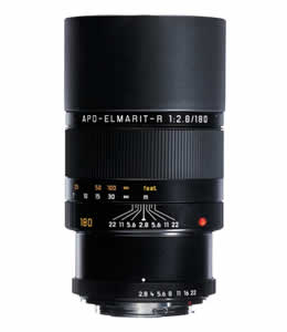 Leica Apo-Elmarit-R 180 mm f/2.8 Telephoto Lens