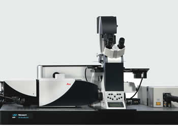 Leica TCS STED Stimulated Emission Depletion Microscope