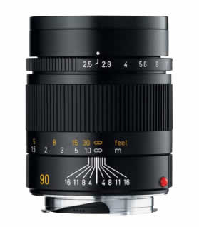 Leica Summarit-M 90 mm f/2.5 Lens
