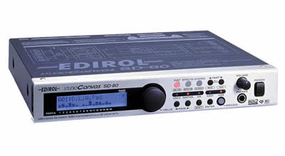 Edirol SD-80  Studio Canvas