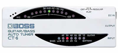 Boss CT-6 Guitar/Bass Auto Tuner