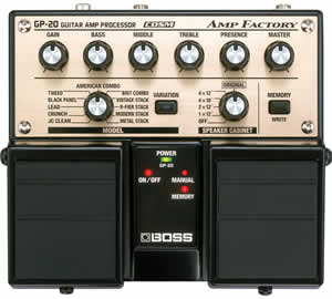 Boss GP-20 Amp Factory