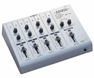 Edirol M-10E 10 Channel 5 Stereo Mixer