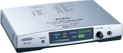 Edirol SD-20 USB Bus-Powered MIDI Sound Module