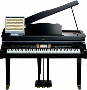 Roland KR-15 Digital Intelligent Mini-Grand Piano
