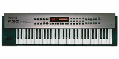 Roland RS-5 64-Voice Synthesizer
