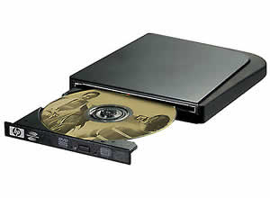 HP dvd555s 8X External Multiformat DVD Writer User Manual