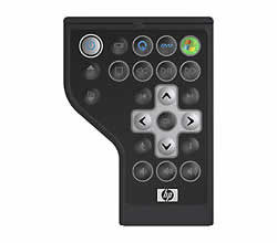 HP Mobile Remote Control Express Card