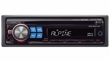 Alpine CDE-9874 CD/MP3 Receiver