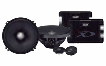 Alpine SPX-17PRO Component 2-Way Speaker System
