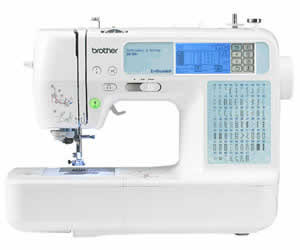 Brother SE-350 Compact Sewing Embroidery Combo Machine