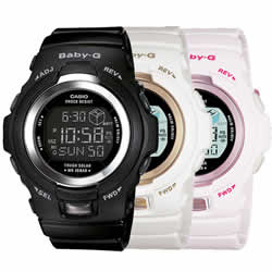Casio BGR300-1/4/7 Baby-G Watch