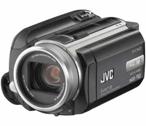 JVC Everio GZ-HD40 Hard Disk Camcorder