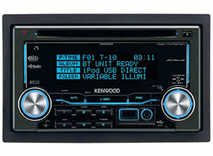 Kenwood DPX503 MP3/WMA/AAC Dual Din CD Receiver