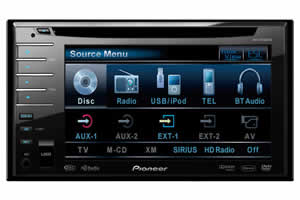 Pioneer AVH-P3100DVD In-Dash Double-DIN DVD Multimedia AV Receiver