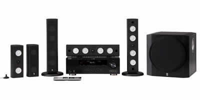 Yamaha YHT-591 Home Theater System