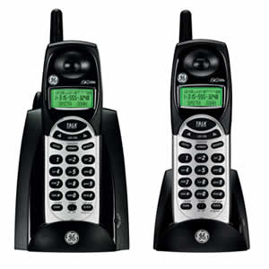 GE 27831FE2 Cordless 2.4GHz Dual Handset Phone