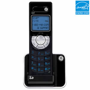 GE 28106FE1 Cordless DECT 6.0 Ultra Slim Accessory Phone