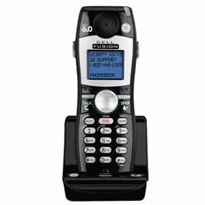 GE 28107FE1 Cell Fusion Cordless DECT 6.0 Digital Interference Free Dual Handset Phone
