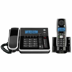GE 28871FE2 DECT 6.0 Corded/Cordless Expandable Phone