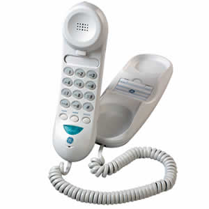 GE 29257GE1 Basic Corded Slim-line Phone