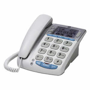GE 29369GE1 Big Button Corded Desktop Phone
