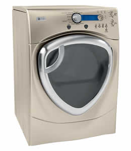 GE DPVH880EJMG Profile Colossal Capacity Electric Dryer