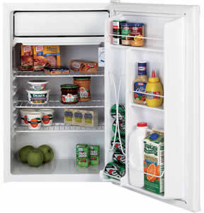 GE GMR04BANWW Spacemaker Compact Refrigerator