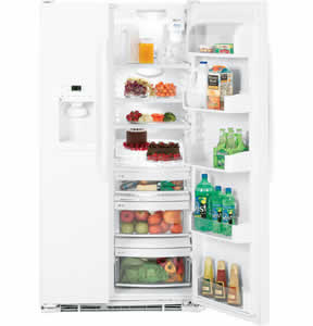GE GSC22QGTWW Counter-Depth Side-By-Side Refrigerator