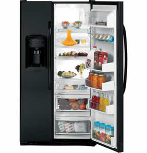 GE GSCF3PGXBB Side-By-Side Refrigerator