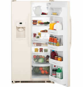 GE GSH22JFXCC Side-By-Side Refrigerator