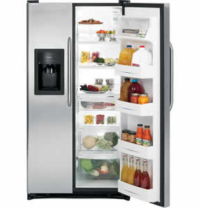GE GSH25JSXSS Side-By-Side Refrigerator